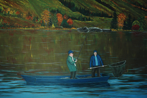 SALMON FISHING MATAPEDIA RIVER QUEBEC