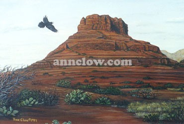 Bell Rock Raven Arizona