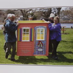 Maud Lewis and the Maudified House Project the story starts Here by Sandra Phinney - picture of carrying house